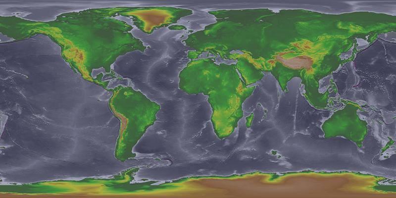 Il mondo durante l'era glaciale