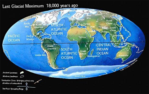 Il mondo durante l'ultimo massimo glaciale