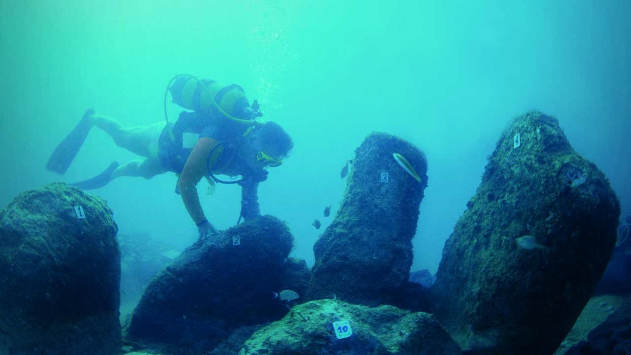 Sub alla scoperta dellle strutture sommerse