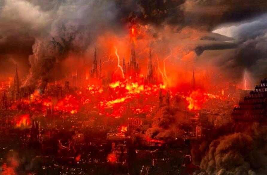 Fetonte e le catastrofi di fuoco