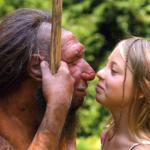 Neanderhal maschio e Sapiens femmina