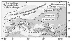Siti paleolitici dell'estremo nord