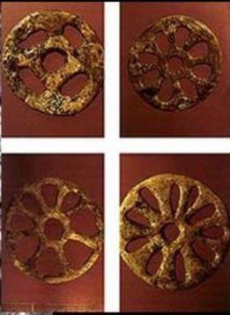 Le ruote solari di Sungir