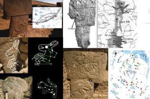 Fregi sui piloni e corrispondenze astronomiche